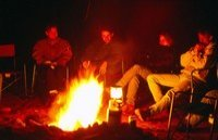 Camping at Ayers Rock