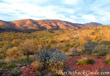 The West MacDonnell Ranges - Alice Springs.