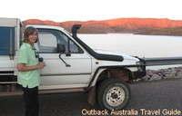 Spectacular view on the drive from Kununurra to Lake Argyle
