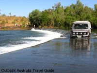 Austrailian Outback river crossing