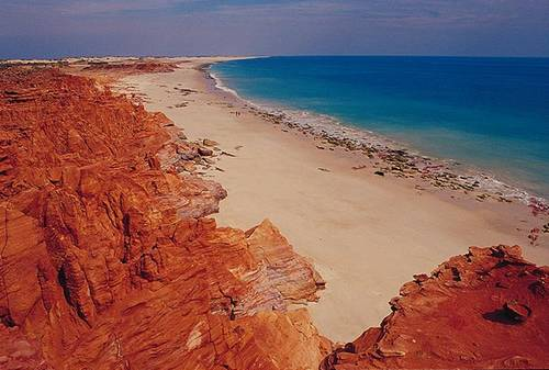 Beach at Cape Leveque near Broome