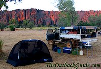 Camping In The Outback Of Australia