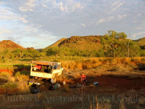 Sunrise in the Australian Outback