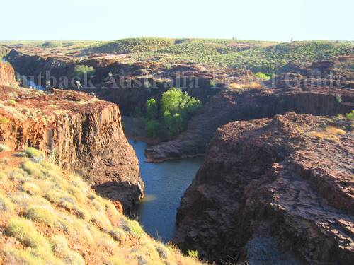 Beautiful Marella Gorge in the Outback
