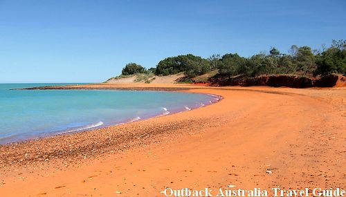 Red Beach at Roebuck Bay, Western Australia