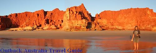 Sunset at Western Beach, Cape Leveque, Western Australia