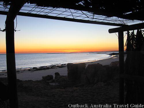 Sunrise at the best Australian Beach