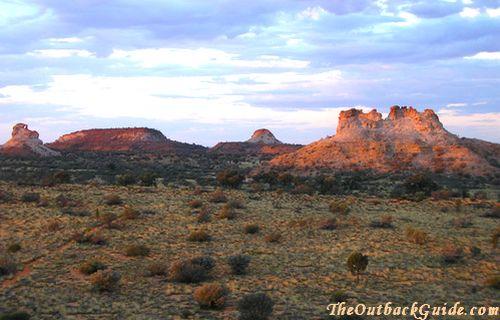 Australian Desert View