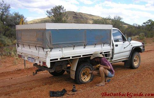 Flat tyre, again...