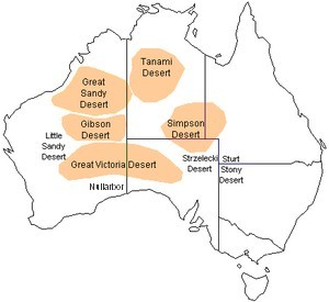 The Australian Deserts - Facts, Information, Outback Travel Advice