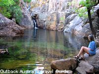 A plunge pool in Kakadu, the most famous of the Australian National Parks