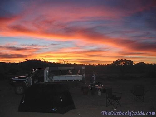 Australian Outback Campsite