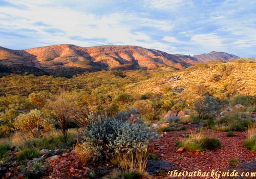 Colourful Outback Ranges