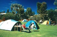 The campground at Ayers Rock