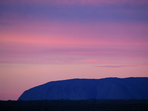 Early morning at Ayers Rock