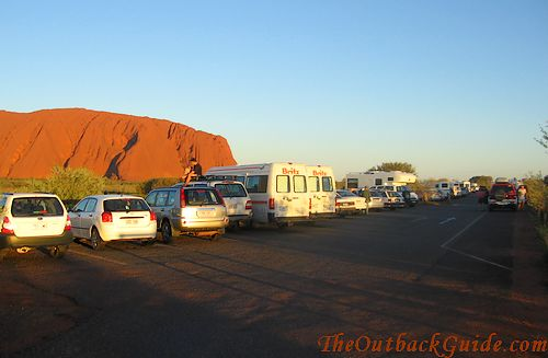 Ayers Rock Sunset Viewing Area