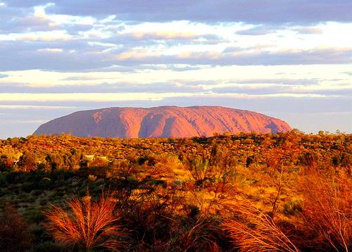Good picture of Ayers Rock Sunrise...