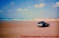 The coast near Broome has endless miles of beaches...