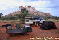 Chambers Pillar Campground