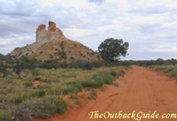 Castle Rock during the day