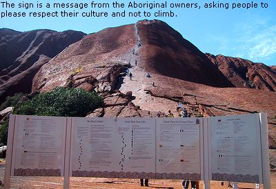 An Uluru trip without climbing?