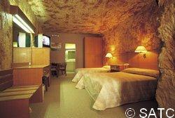 Modern Underground Hotel Room