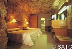 Desert Cave Underground Hotel Room
