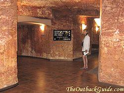 Underground in Coober Pedy