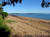 Beach in Darwin