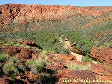 The East MacDonnell Ranges