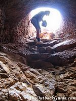 Arltunga mining shaft