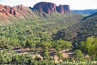 View near Trephina Gorge