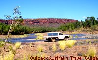 The old Victoria River crossing.