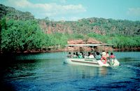Cruising on Kakadu's East Alligator River