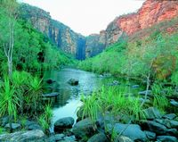 View of Kakadu's Jim Jim Gorge