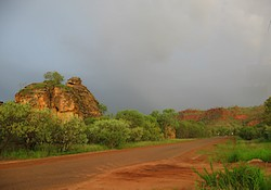 Wet season colours