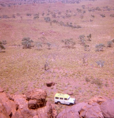 Working in the Tanami