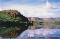 Kimberley Rocks on Lake Kununurra