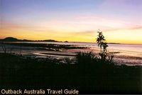Sunset at Cape Domett near Kununurra