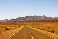 Endless Outback Australia road
