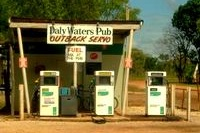 Servo (service station) in the Outback