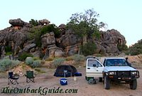 Outback Camping In Australia