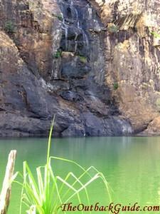 Main pool at the bottom of Gunlom Falls