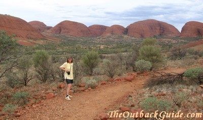 Walking amongst the Olgas