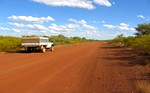 Travel in Australia: endless Outback roads...