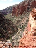 View over Serpentine Gorge