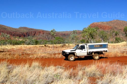 The colours of the Western Australia Kimberley region