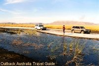 Bogged in the Australian Outback