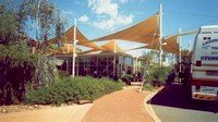 The Ayers Rock Hotel Sails In The Desert