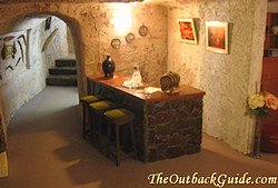 Underground Home Bar
